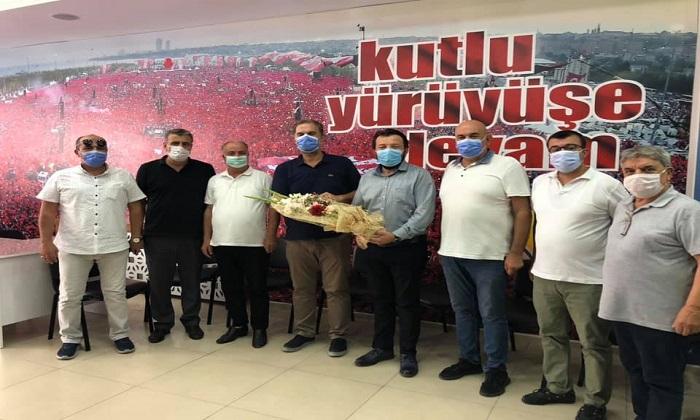 SOMA TSO'DAN AK PARTİ'YE ZİYARET